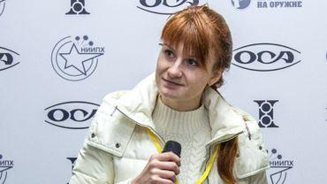 Maria Butina, 30 ans, est la première Russe dont la culpabilité a été reconnue à la suite de l'une des nombreuses enquêtes portant sur les ingérences de Moscou dans la campagne présidentielle de 2016 aux Etats-Unis.
