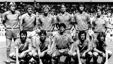 L'équipe des Diables rouges au Mundial de Mexico, 1986