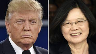 Contacts avec Tsai Ing-wen: la presse chinoise ménage Trump mais menace Taïwan