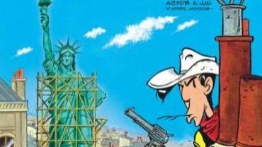 """""""Lucky Luke, un cow boy à Paris"""" de Jul et Achdé."""