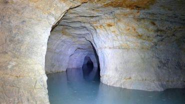 Carrières souterraines de la Malogne - partie sous eaux