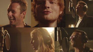Vidéo: Chris Martin, Ed Sheeran, Ellie Goulding, Bono, Sam Smith... pour Band Aid 30