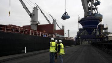 Le transport terrestre vers et au départ du port de Gand à son niveau le plus bas