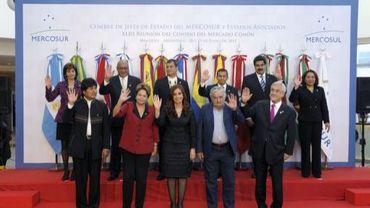 Sommet du Mercosur à Buenos Aires, le 29 juin 2012