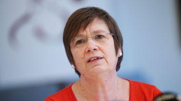 Alda Greoli, ministre wallonne de la Fonction publique