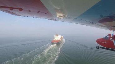 La Belgique pionnière dans la lutte contre la pollution maritime