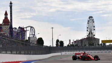 La Ferrari de Sebastian Vettel en 2018