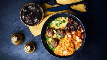 Recette: Snack bowl aux pruneaux