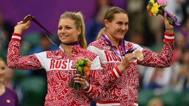 Maria Kirilenko et Nadia Petrova