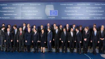 Les 28 parlent beaucoup de l'accord qui vient d'être négocié à Minsk
