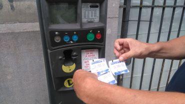 Au cimetière d'Ixelles, les tickets de stationnement sont erronés