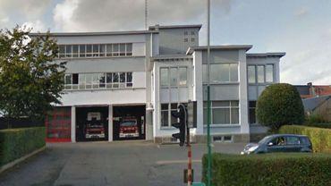 L'actuelle caserne des pompiers verviétois