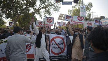 Caricatures de Mahomet: 2000 personnes manifestent contre la France au Pakistan