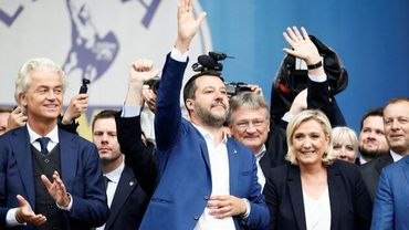 Matteo Salvini, en rassembleur de l'extrême-droite européenne