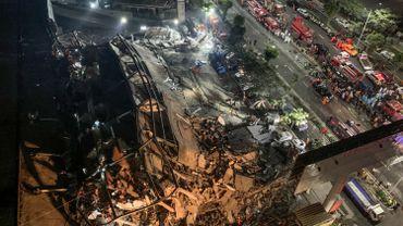 26 morts dans l'effondrement d'un hôtel lieu de quarantaine en Chine