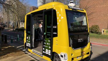 La première navette autonome circulera la semaine prochaine à Louvain-la-Neuve