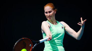 Van Uytvanck éliminée après un match intense contre Petra Kvitova, 11e mondiale