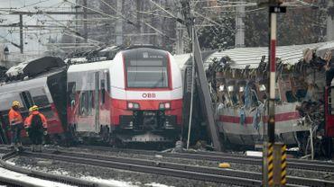 Collision entre deux trains en Styrie, au centre de l'Autriche, ce 12 février