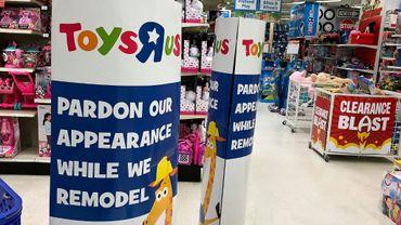 Un magasin du distributeur de jouets Toys 'R' Us à San Rafael en Californie, le 19 septembre 2017