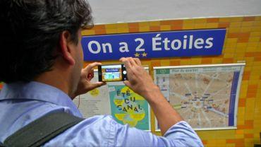 La France renomme ses arrêts de métro après la victoire de la Coupe du Monde