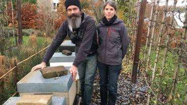 Laurent Natalini et Mäité Maus, deux apiculteurs primés