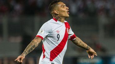 Paolo Guerrero, star du Pérou suspendu et absent du Mondial