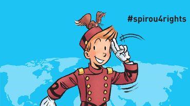 """""""Spirou4rights"""": une exposition itinérante qui fait halte à l'Atomium à Bruxelles"""