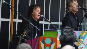 New York: Paul McCartney donne un concert surprise, annoncé sur Twitter