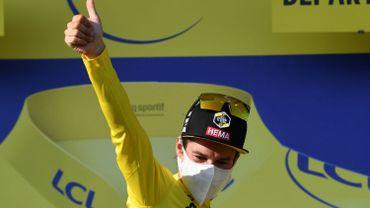 Le Slovène Primoz Roglic (Jumbo-Visma) a conservé son maillot jaune dimanche au terme de la 15e étape du Tour de France