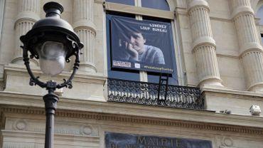Affiche demandant la libération de Loup Bureau