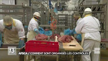 L'AFSCA  a renforcé ses contrôles sur la viande suite à l'affaire Veviba