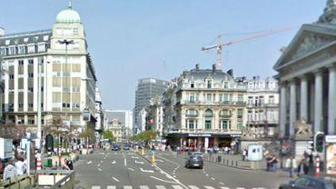 L'idée, c'est d'organiser un pique-nique chaque dimanche sur toute la largeur du boulevard Anspach.