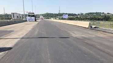 Des défauts sur le flambant neuf viaduc de Herstal nécessitent de nouveaux travaux