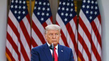 Election américaine 2020 : Trump évoque pour la première fois la possibilité d'une défaite