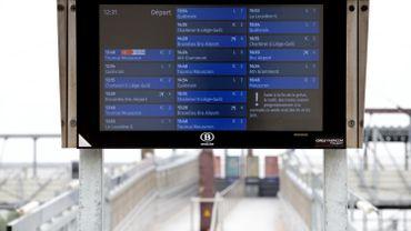 Changement d'horaire à la SNCB, comme toujours à la même époque.