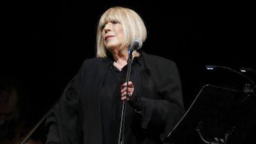 Marianne Faithfull en novembre 2016