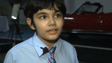 Tanishq Abraham, un jeune prodige américain diplômé des secondaires à dix ans