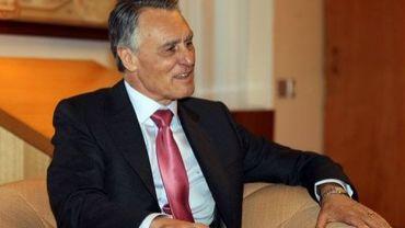 Le président portugais, Anibal Cavaco Silva,photographié le 25 mùai 2012 à Canberra, en Australie