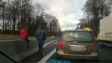 Bruxelles: bouchons sur le ring après un accident entre Groenendael et Hoeilaart