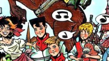 """Le musée de la bande dessinée de Bruxelles fête ses 30 ans et  s'est associé avec la ville de Libramont-Chevigny pour créer """"la quinzaine libramontoise""""."""