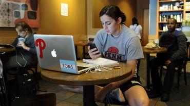 la plupart des jeunes interrogés vont sur internet une à trois heures par jour