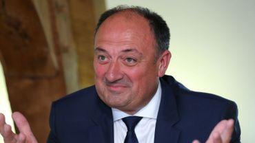 Willy Borsus, futur ministre-président du gouvernement wallon