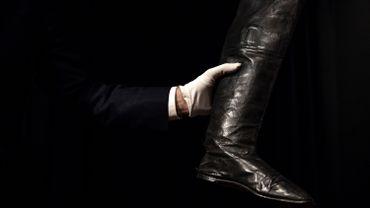 Une paire de bottes portées par Napoléon cédée à plus de 117.000euros