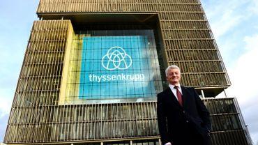 """Tata-ThyssenKrupp: vers une concentration """"nécessaire"""" de l'acier européen?"""