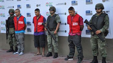 Des membres de Zetas au Mexique