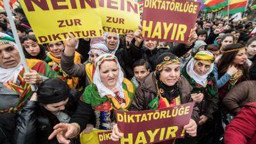 Le gouvernement turc condamne une manifestation kurde à Francfort
