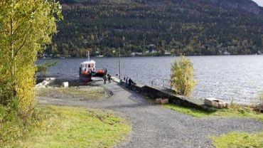 Le ferry boat utilisé par Anders Behring Breivik pour se rendre dans l'île d'Utoeya le 22 juillet 2011 dans cette photo du 3 octobre 2011.
