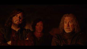 """Karadoc (à gauche) et Perceval sont de retour dans la suite de """"Kaamelott"""" qui sortira au cinéma le 29 juillet."""