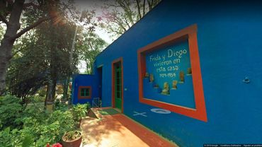 Frida Kahlo sur Google Street View