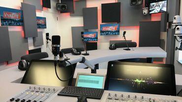 Un nouveau studio a été aménagé dans les locaux de TVCom à Ottignies.